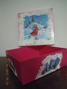 Χριστουγεννιατικο κουτι γλυκων.