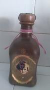 Μπουκάλι ντεκουπα με πηλό και πατινες