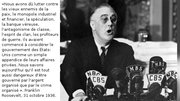 Franklin D Roosevelt & le danger de la finance