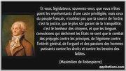 Robespierre-legislateur
