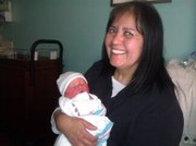 Grandma MaryAnn with Dakota 1st Picture!