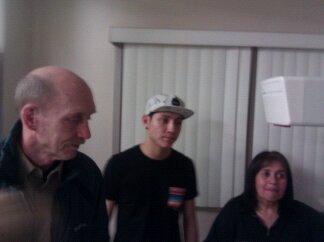 Grandpa Eric 1st View of Dakota!
