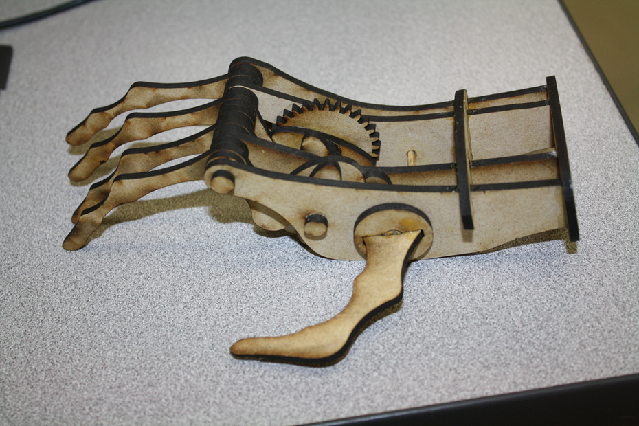 Student Built from Scroll Saw magazine