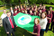 Somervale School are awarded the Green flag Eco Schools award