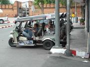 Tuk tuk...ou touk touk...ou taxi thaïlandais...