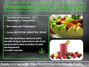 Recherche coach en nutrition
