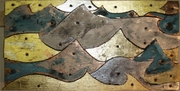 Metal clad tortured plywood