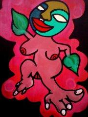 """""""The Imp"""" 16x20/Acrylics"""