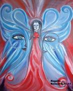 """Swan Spectre""-Oil On Canvas-2011"