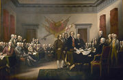 Declaration Independence the signing