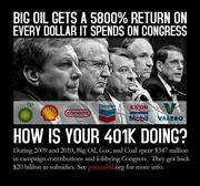 Big oil gets