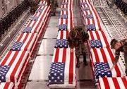 american flag coffins