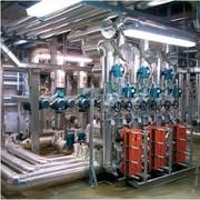Centrale di scambio e di pompaggio acqua surriscaldata 250 °C