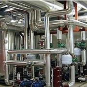 Centrale di scambio e di pompaggio acqua refrigerata
