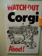 Corgi sign