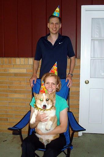 Family Photo - Maggie's 8th birthday