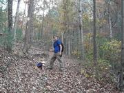 Hiking and camping.