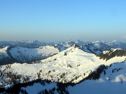 Lennox Mt. morning summit view