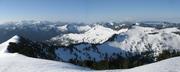 Lennox Mt. summit view south