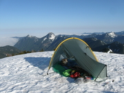 Lennox Mt. summit morning