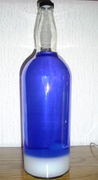 My new custom-made Lunar bottle white/violett