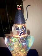 2003 Halloween Ghost Glitter by Dept 56 #3