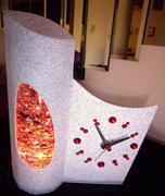 Rare French glitter clock 2