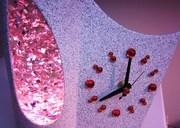 Rare French glitter clock 6