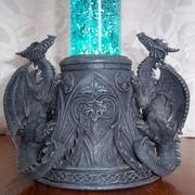 Gothic Dragon Lava Lamp 2