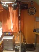 My bedroom disco light rig