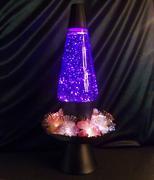 Midnight Enchantress planter (purple glitter)