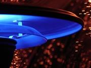 Wheeler UFO lamp