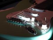 Surf Green Fender Stratocaster