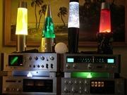 Quad motion lamps & KA-8044 amplifier