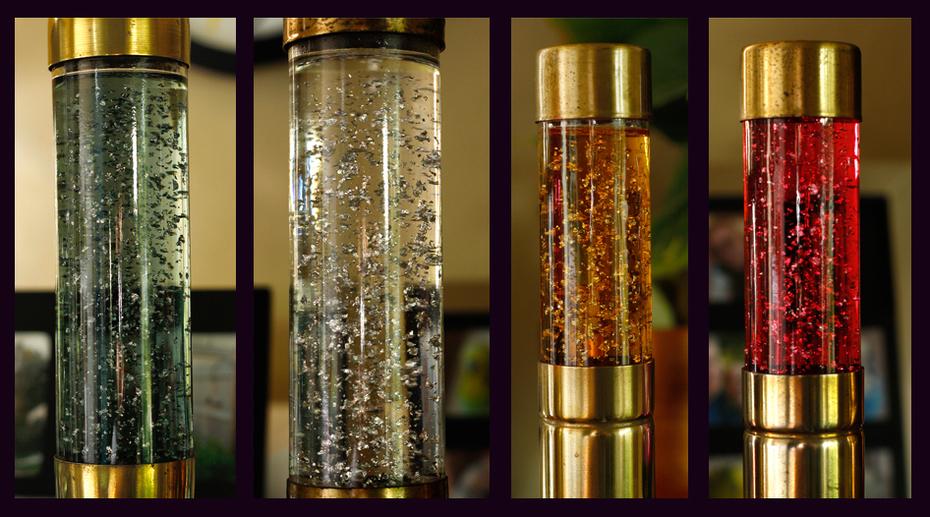 Florence Art Glitter Lamps - Off