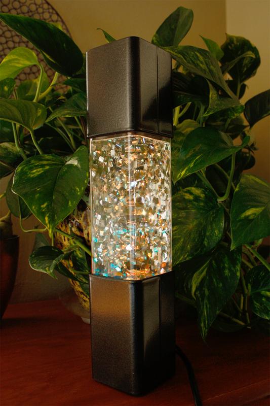 Italian Glitter Lamp from France