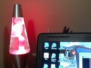 2012  Neon Watermelon lava lamp from walmart !