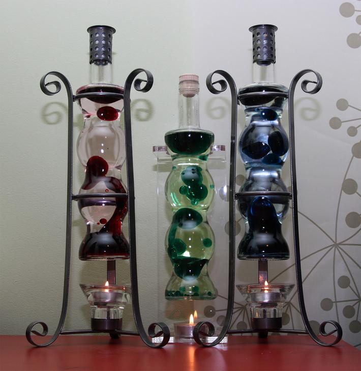 Aurasglow Lamps x3