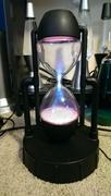 Starshower hourglass plasma lamp