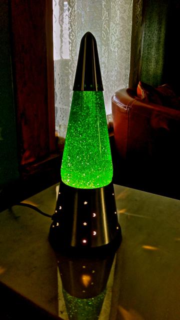 Magic Green Glitter