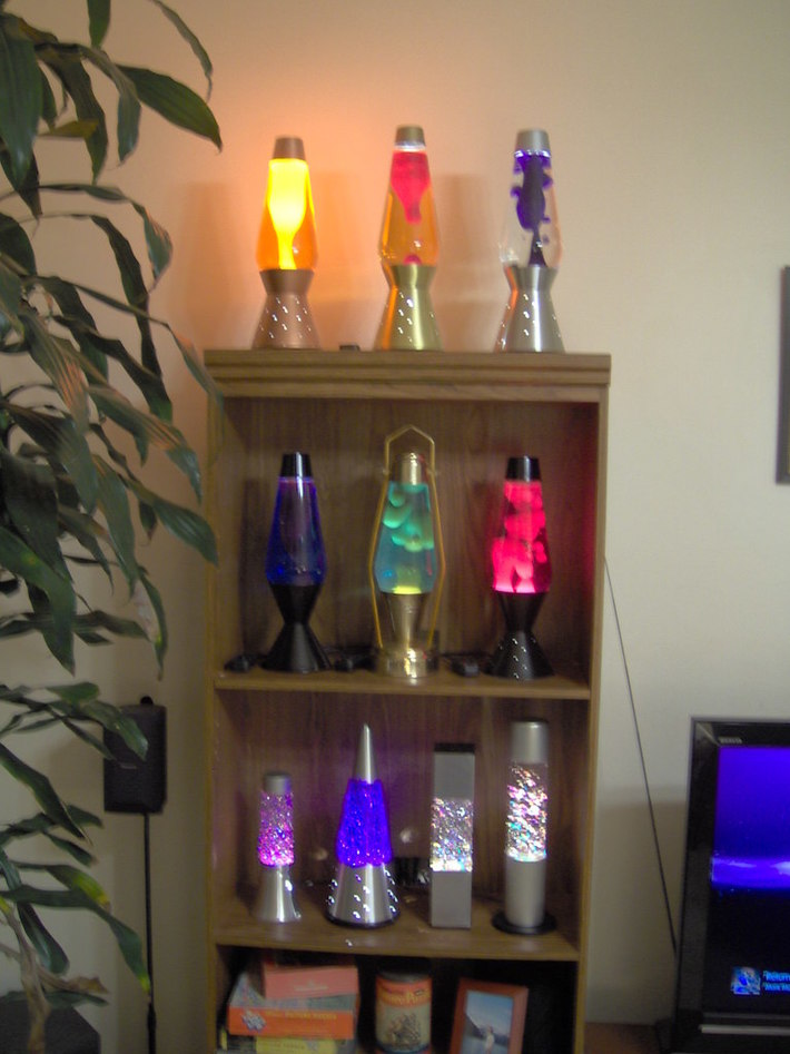 Some lamps.
