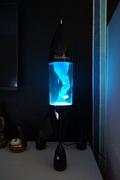 Black Lunar with new light blue/blue bottle