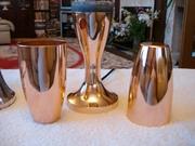 Crestworth Copper Goblets And Astro Illumination Base
