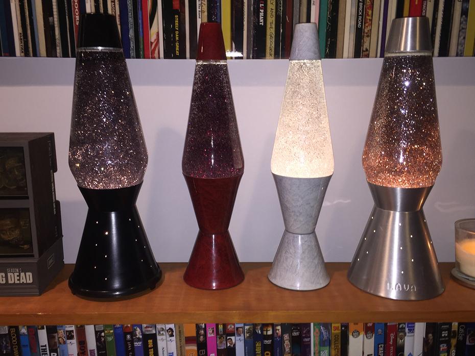 Custom Glitter Lamps