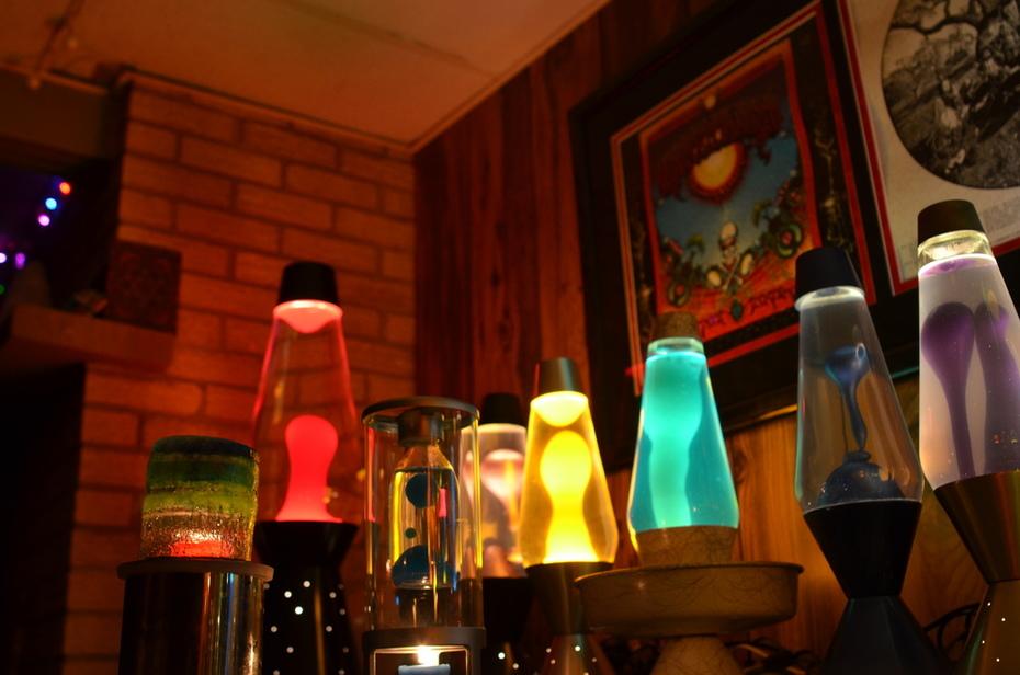Motion lamps.