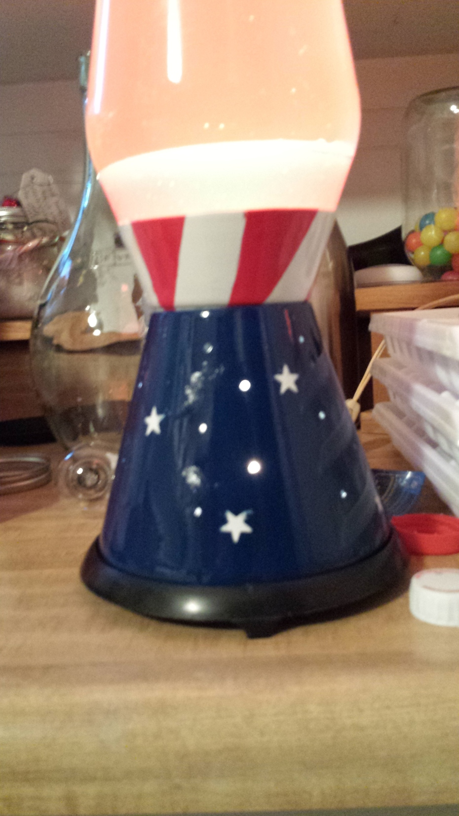 Stars and Stripes base first attempt