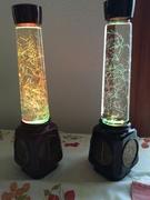 Russian Glitter Lamp Treasures