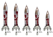 XXL Lunar Bottles Sizes