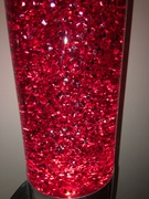 Mathmos Lunar Glitter red/red