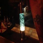 Homemade glitterlamp